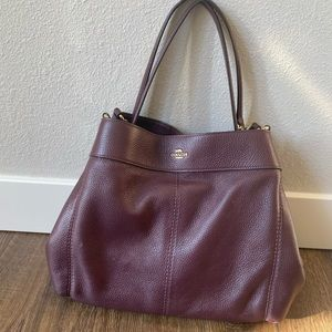 Authentic Coach Lexi Tote, great condition